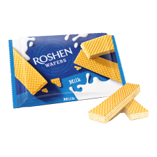 Вафлі ROSHEN Wafers молоко ВКФ 72г/40шт