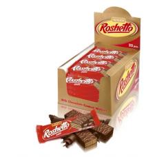 Вафельні батончики Roshetto Dark Chocolate ВКФ 32г/200шт